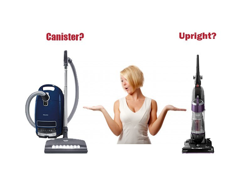 What Is The Difference Between Upright And Canister Models?